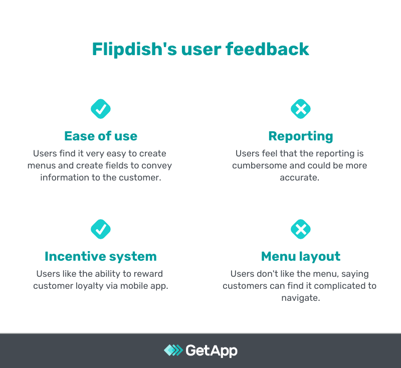 flipdish user feedback pros and cons