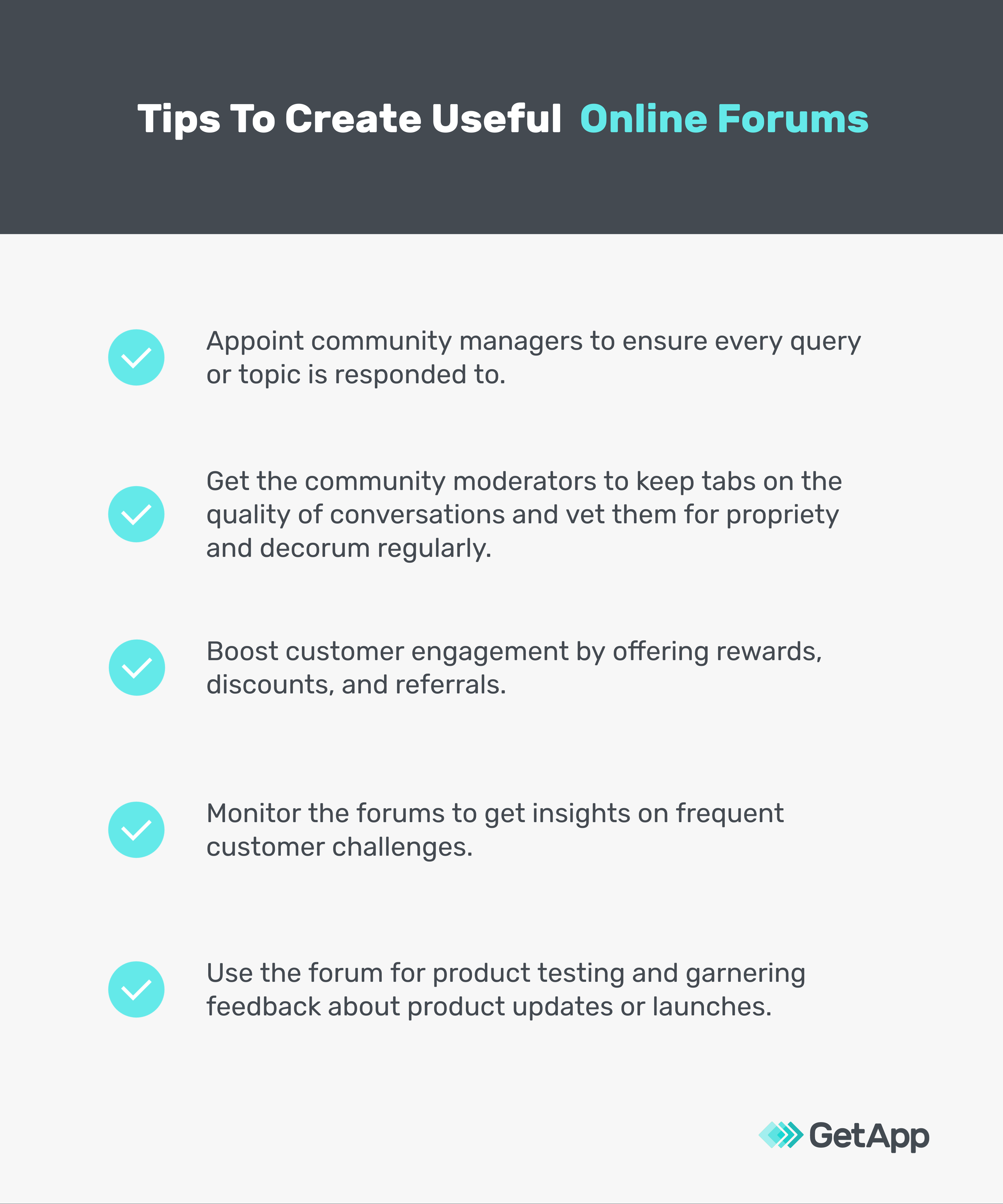 Tips to create useful online forums