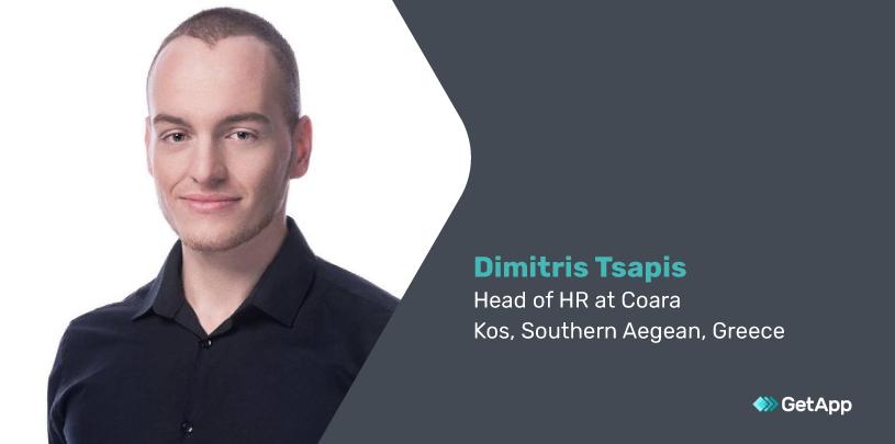 Dimitris Tsapis, head of HR at Coara