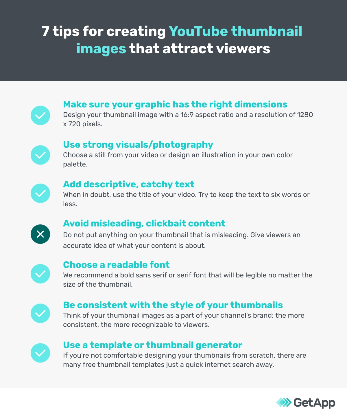 7 tips for creating YouTube thumbnail images that attract viewers