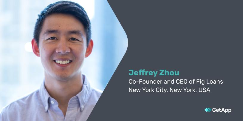 Jeffrey Zhou, CEO of Fig Loans