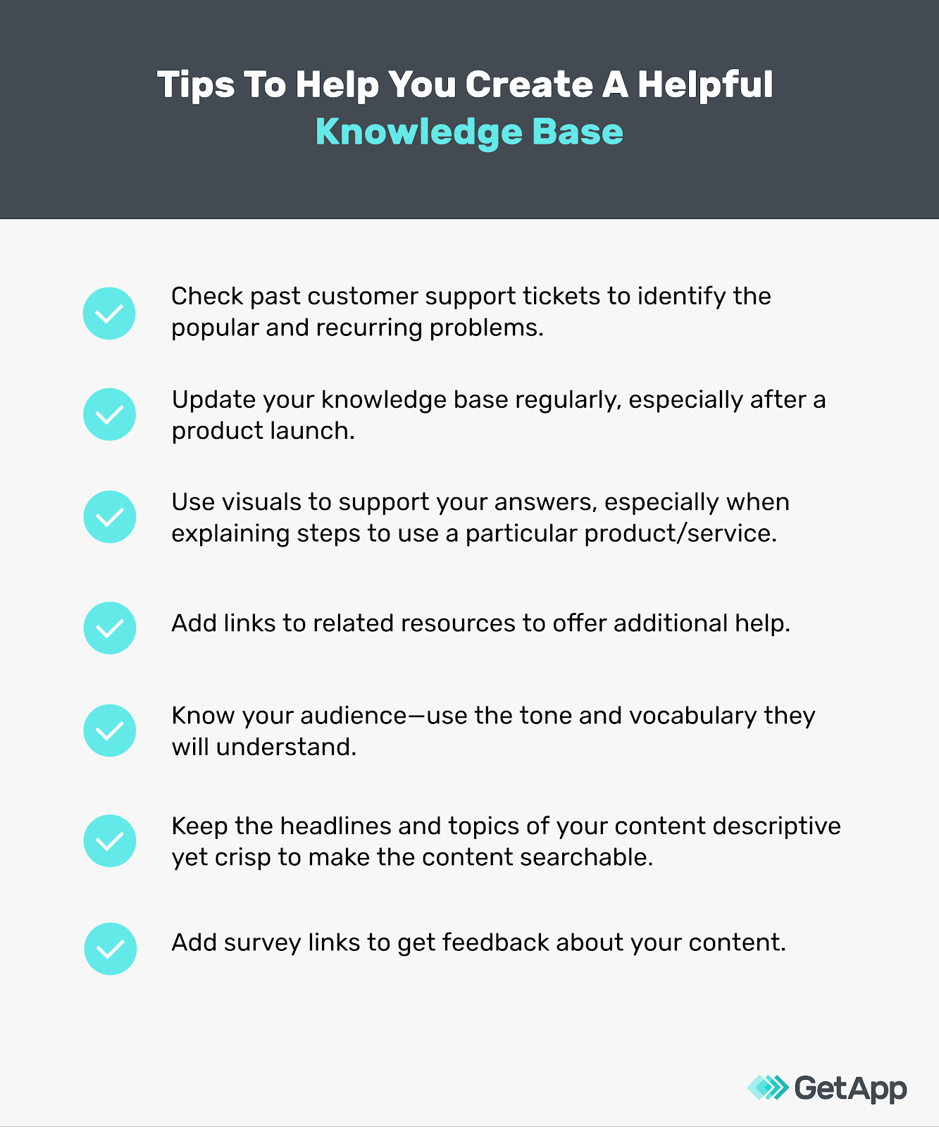 Tips to create useful knowledge base