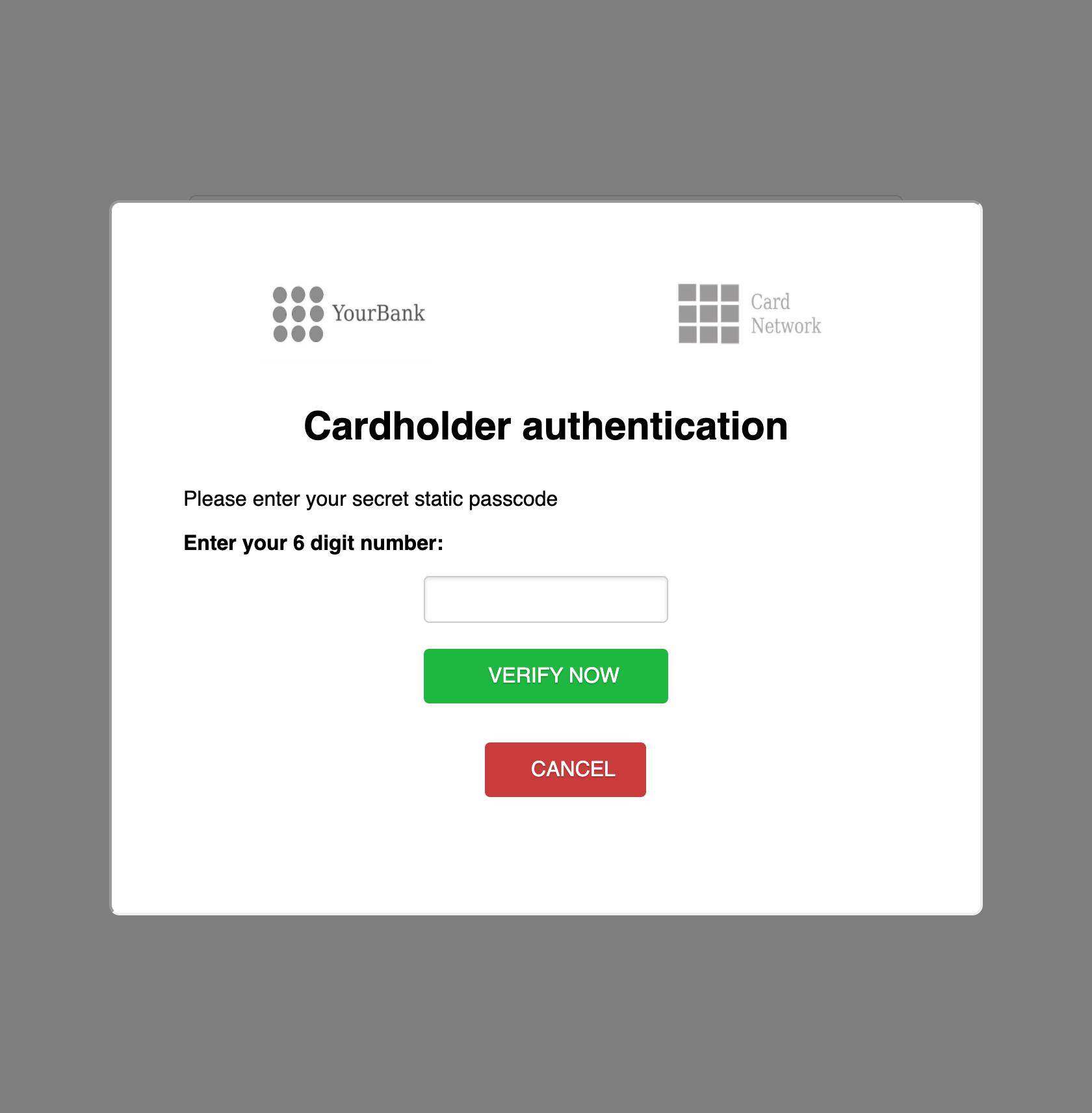 web-payments : sca : verify