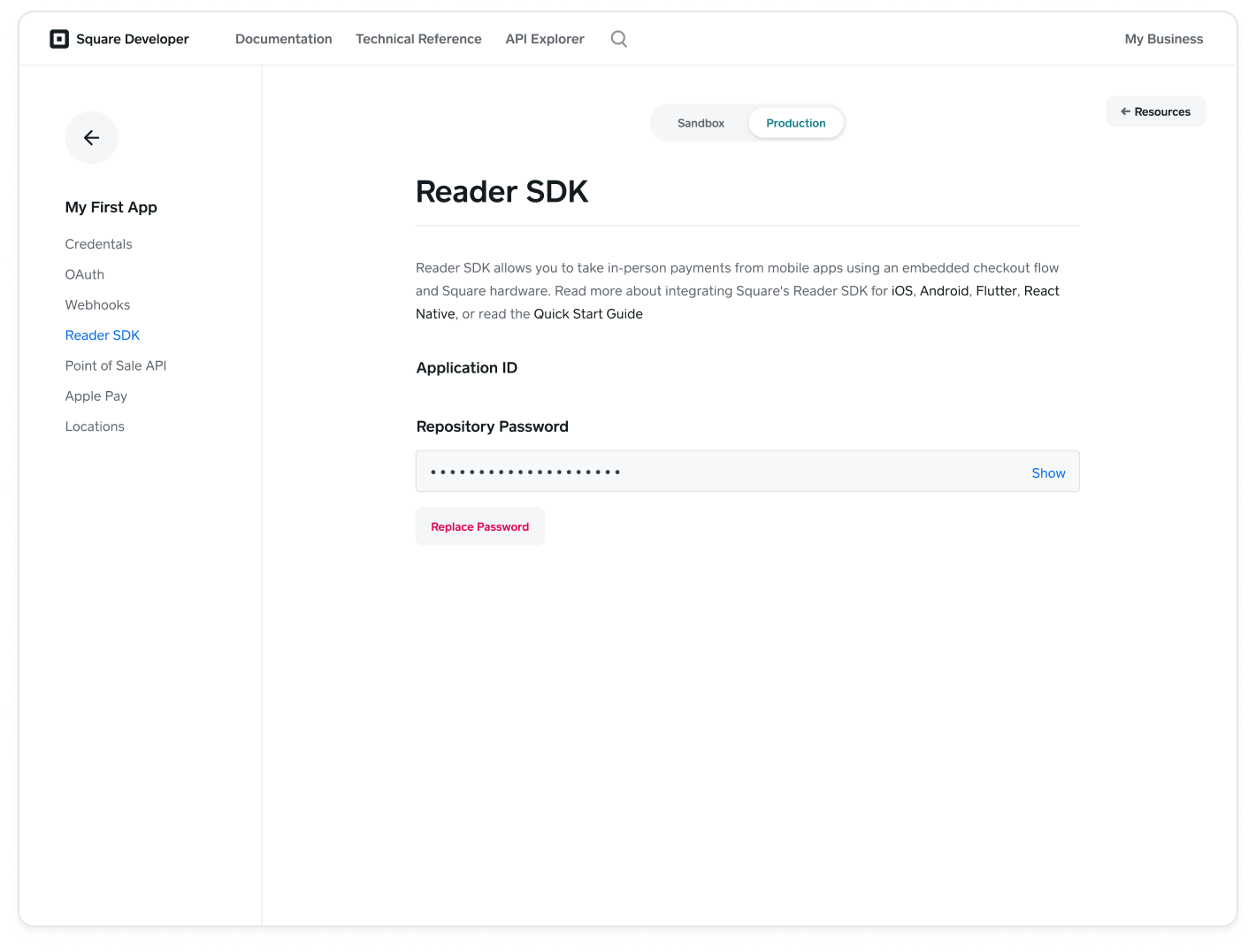 readersdk-settings-page