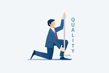 quality measures icon