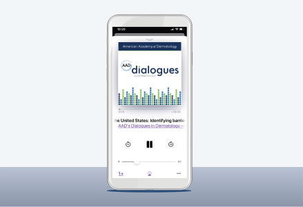 Dialogues in Dermatology app