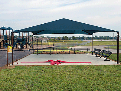 Collinsville Upper Elementary, Shade Structure Grant recipient