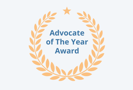 Advocate of the year award