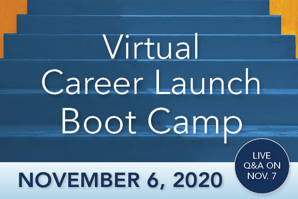 Card illustration for Virtual Career Launch Boot Camp
