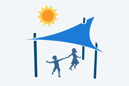 Shade structure image for volunteer landing page