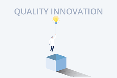Quality innovation icon