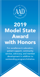 Model State with Honors Award ribbon