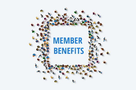 Art for Member benefits card