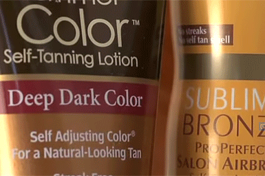 Self-tanning products