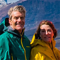 Kathleen Welsh and Bill Plautz