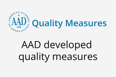 Image for AAD developed quality measures
