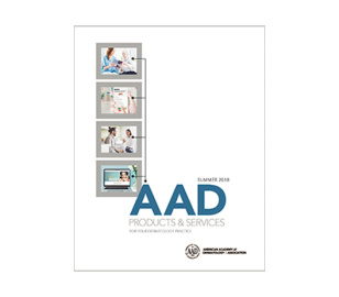 Photo of the AAD product catalogue