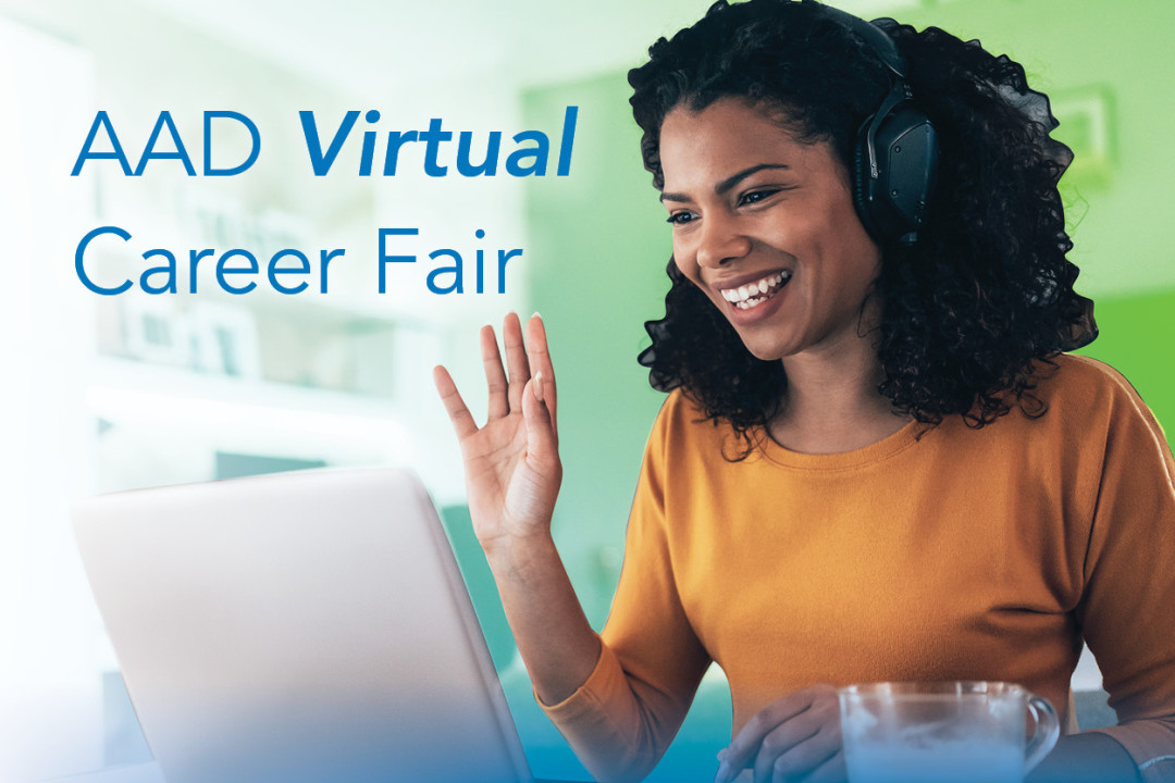 Card illustration for AAD Virtual Career Fair
