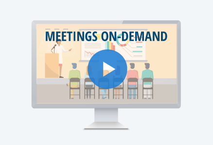 Meetings on demand image on Meetings Archive page
