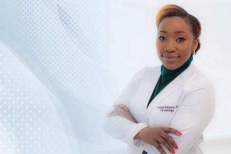 Female dermatologist
