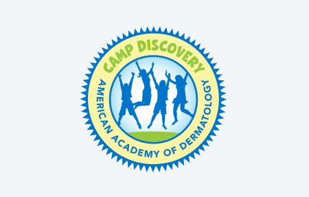 Camp Discovery logo for volunteer landing page