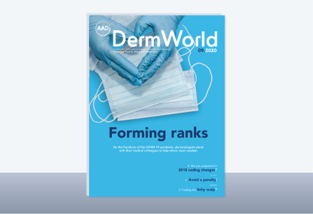 Dermatology World cover
