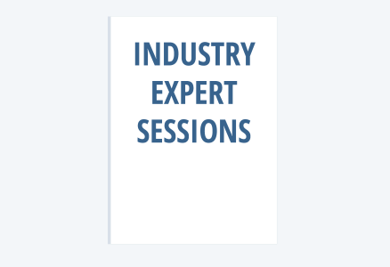 Industry expert sessions image