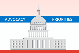 Advocacy priorities image for the featured section in navigation