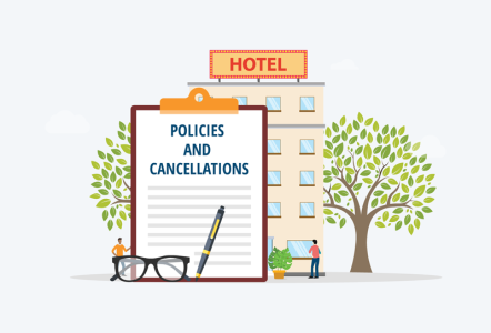 Hotel policies and cancellations