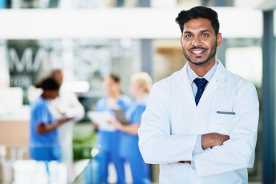 Image of smiling doctor