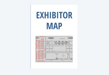 Exhibition hall map image