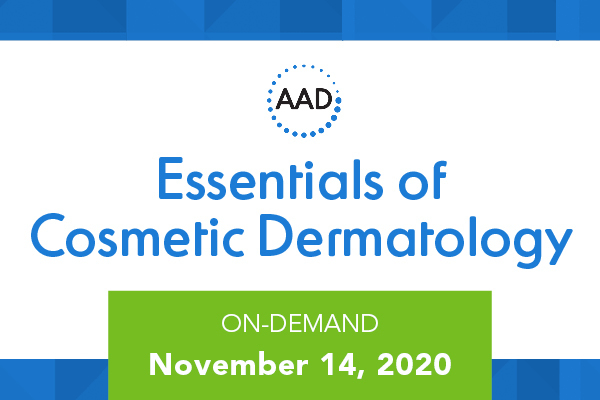 Essentials of Cosmetic Dermatology