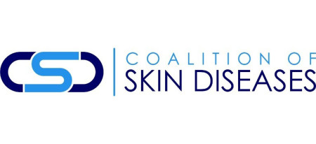 Coalition of skin diseases logo