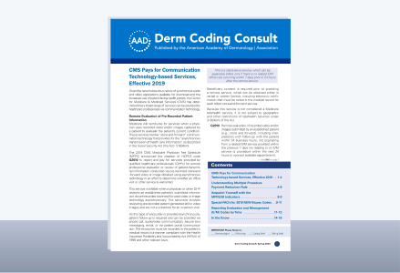 Derm Coding Consult cover