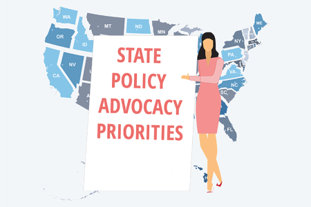 Card illustration for state advocacy priorities