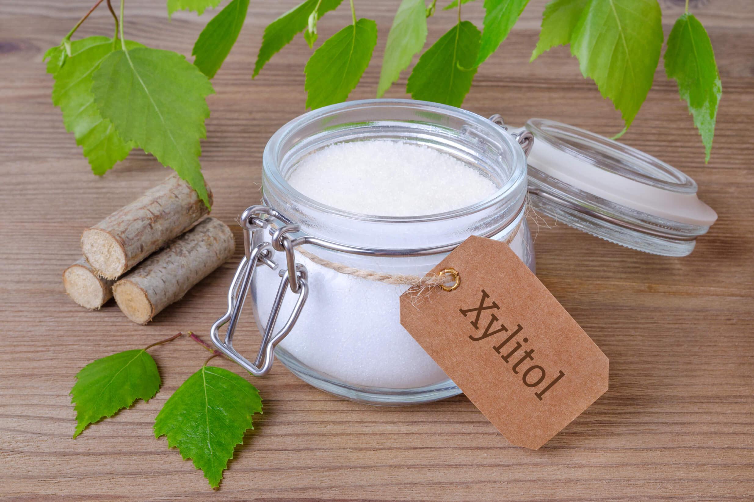 jar of xylitol