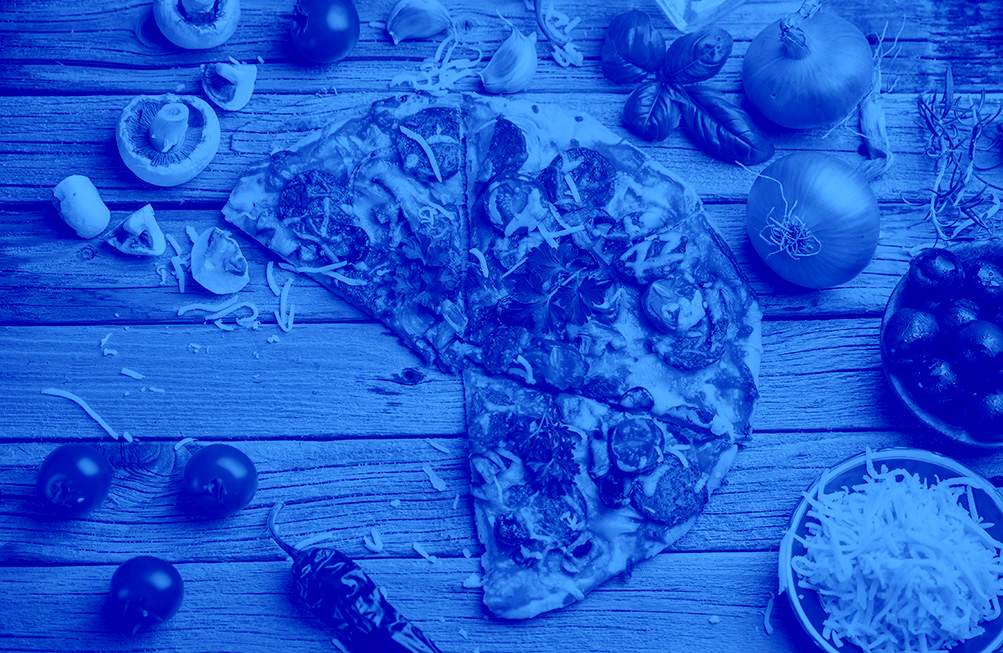 Blue - Pizza
