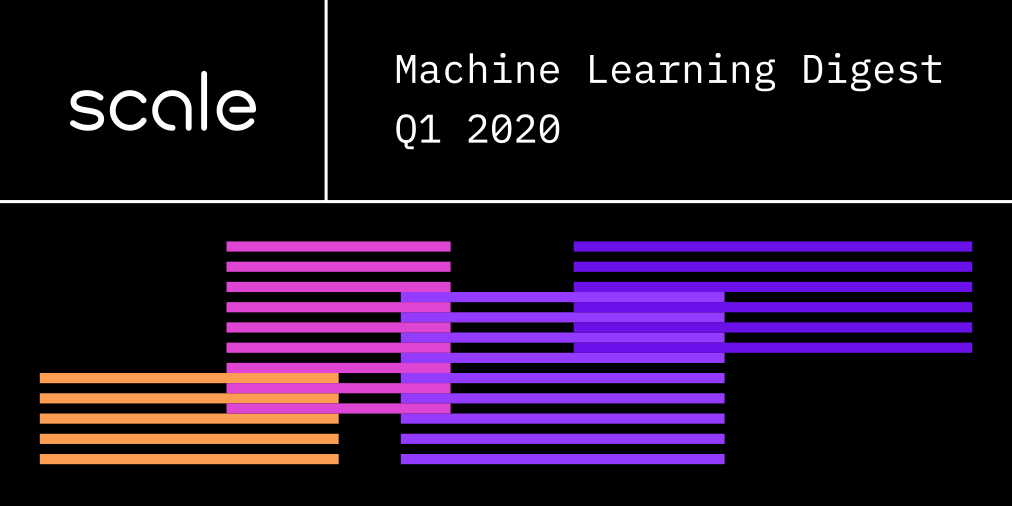 Scale AI Machine Learning Digest - Q1 2020 cover