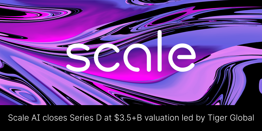 Scale AI's Series D: Expanding our Team to Empower AI Dreamers cover