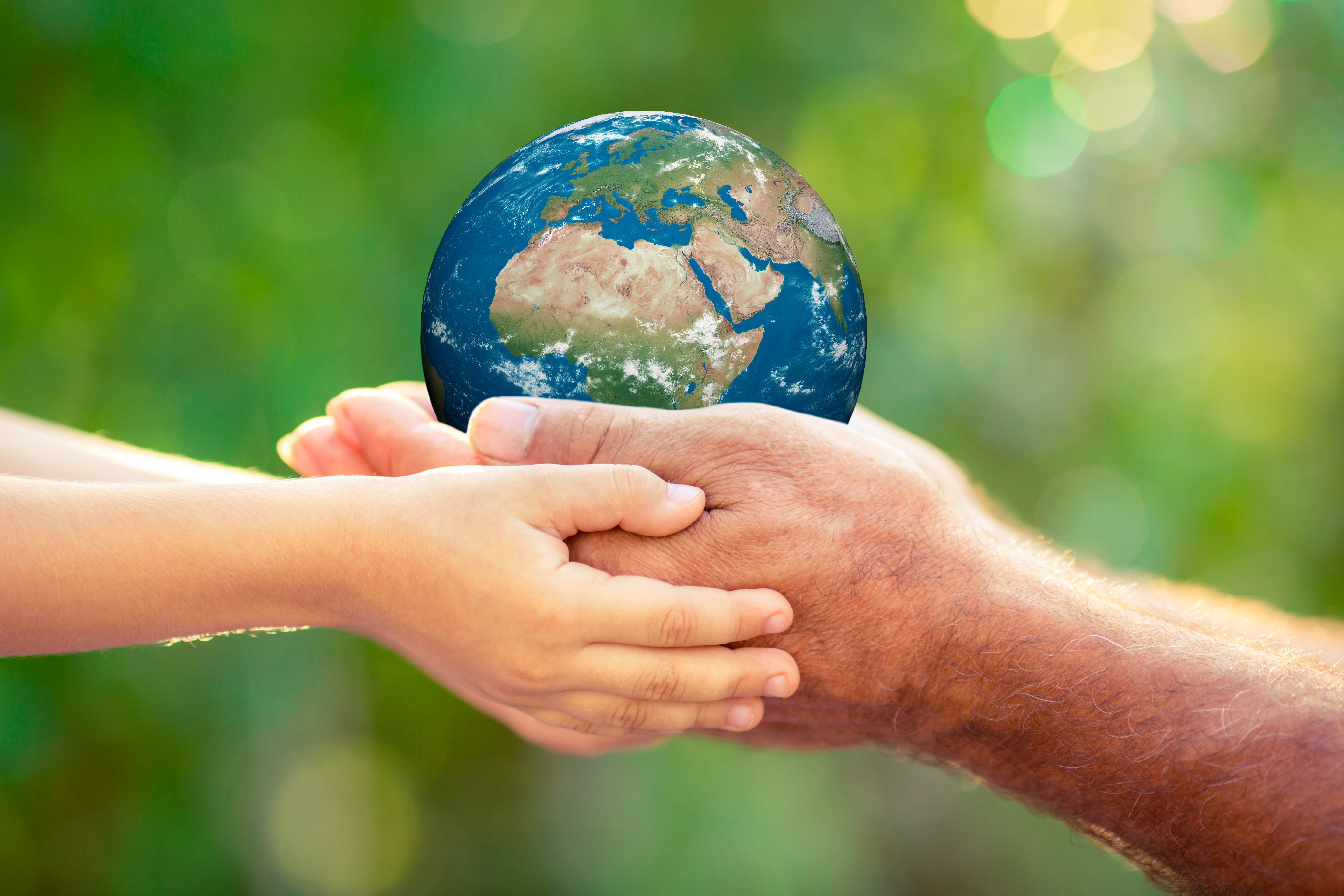 We need to hold our world carefully, together