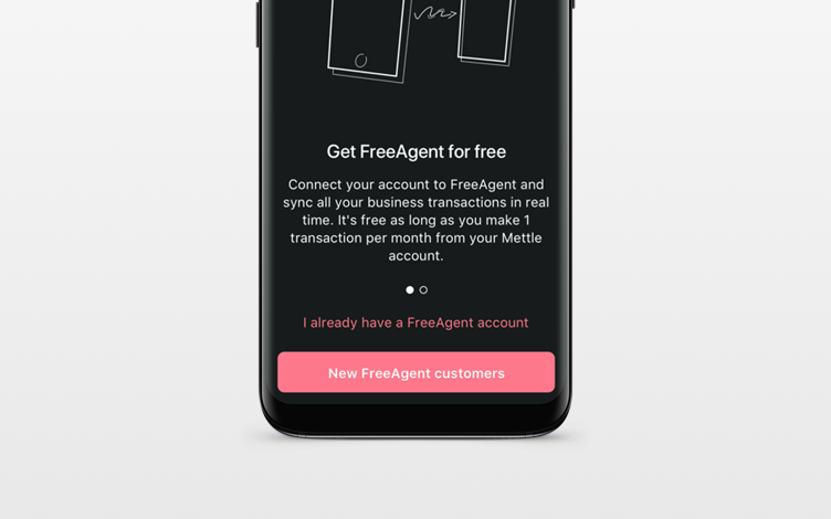 Connect your account to FreeAgent
