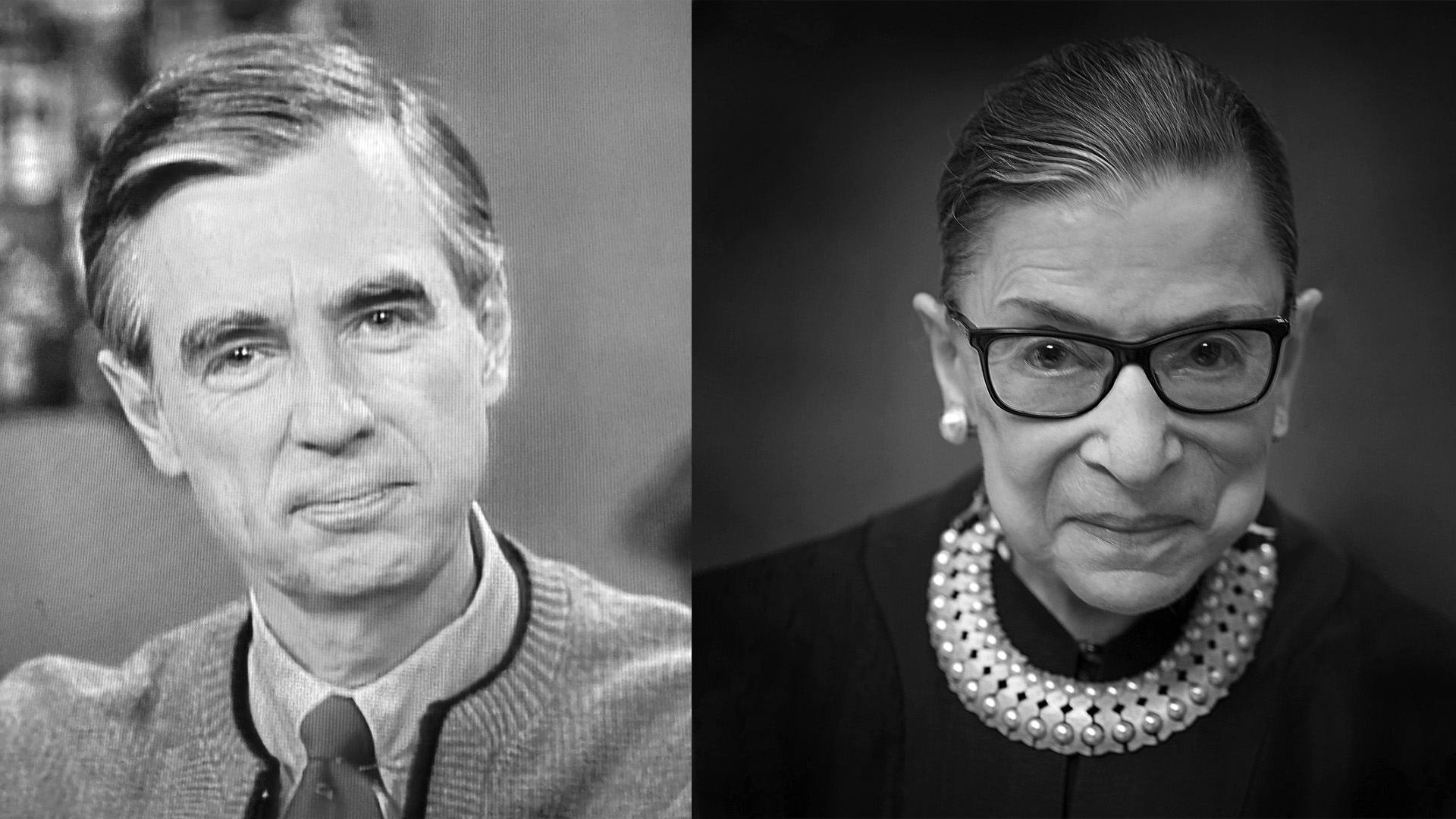 Mister Rogers and RBG