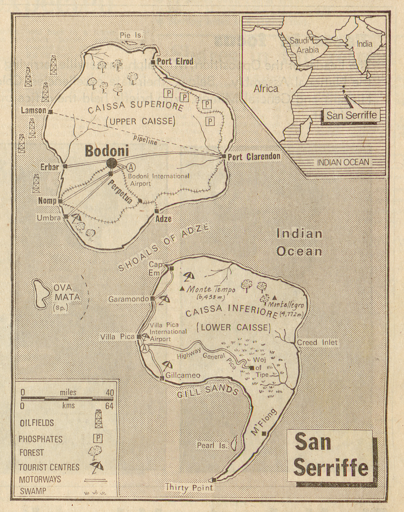 The Map of San Serriffe