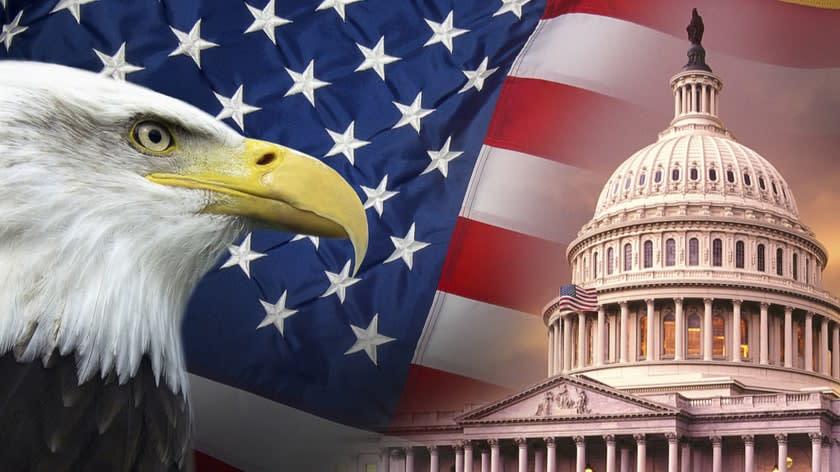 us eagle flag congress