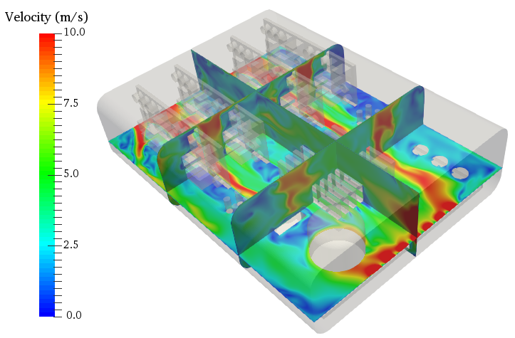 Simulation of electronics enclosure with SimScale