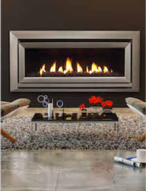 Gas log fires & flued heaters