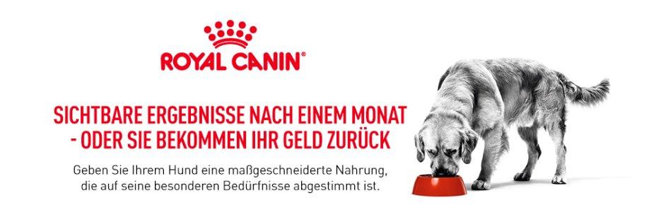 Royal Canin Zufriedenheitsgarantie