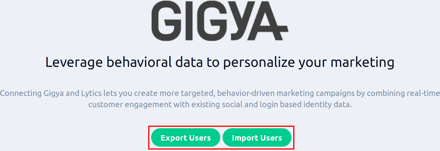 gigya integration workflows