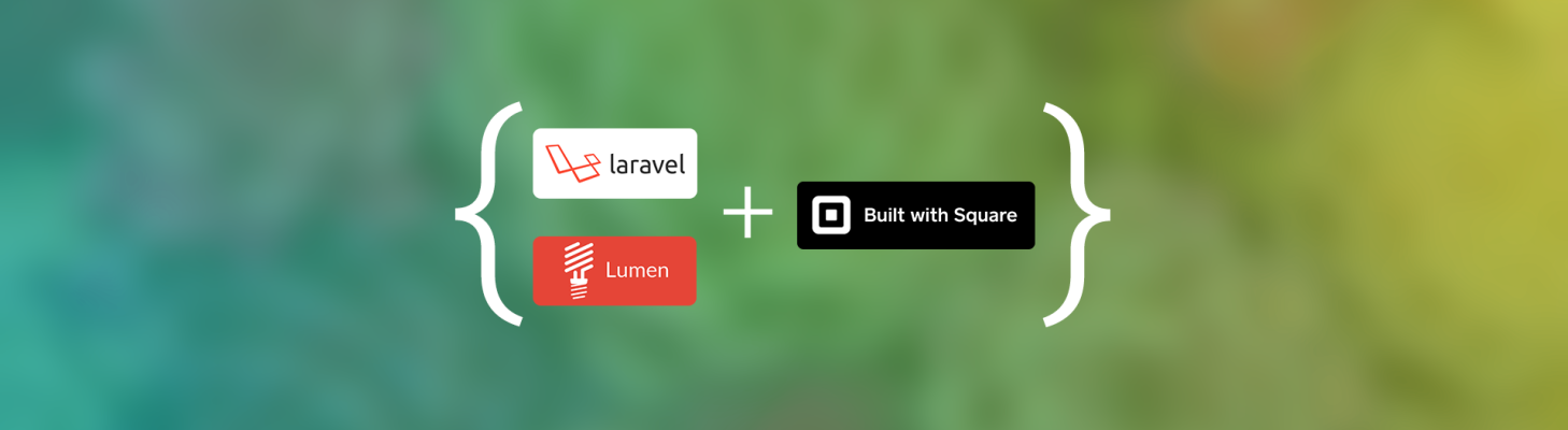 Square implementation with Laravel