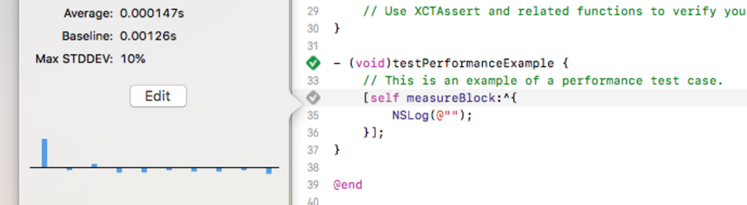 measureBlock: How Does Performance Testing Work In iOS?
